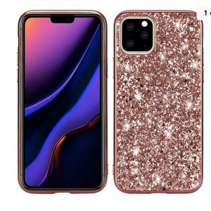 iPhone 11 Pro Max Luxury slim plating Rubber case